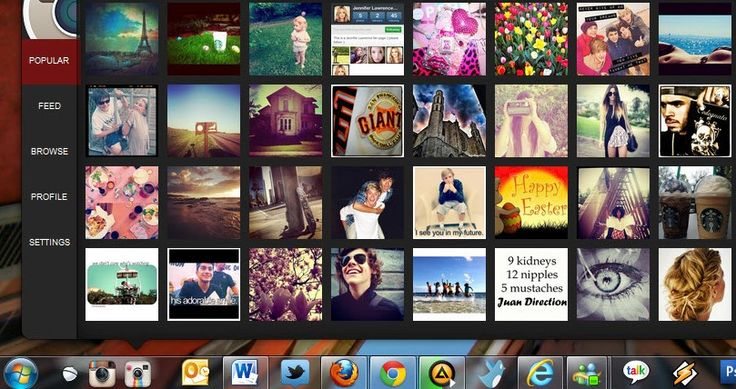 how to see private instagram photos on pc
