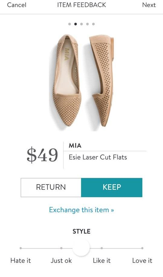 MIA Esie Laser Cut Flats from Stitch Fix.  https://www.stitchfix.com/referral/4292370