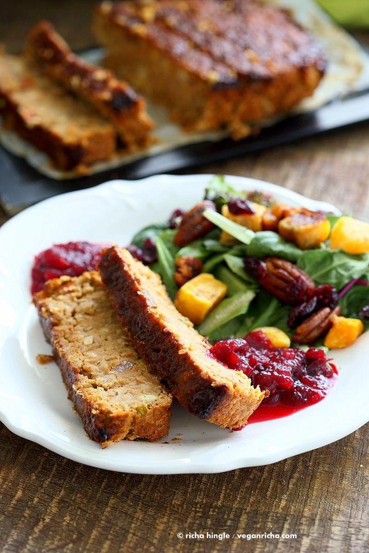 Chickpea Veggie Loaf - Vegan Richa