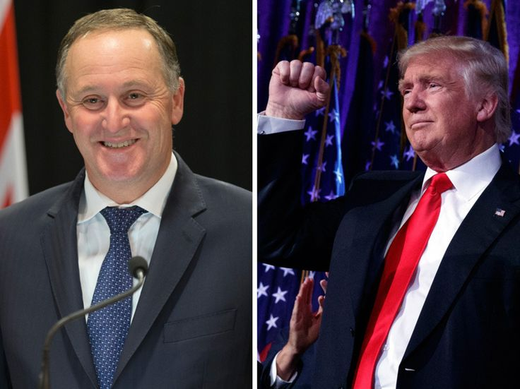 Two days after Donald Trump's incredible victory in the United States, Prime Minister John Key admits the idea of 'President Trump' is still kind of weird. - New Zealand Herald