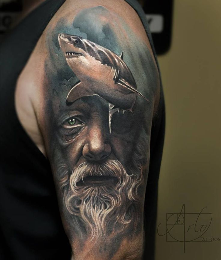 61 Jaw Dropping Chest Tattoos Meaning: Jaw-Dropping Face Morph Tattoos By Arlo DiCristina