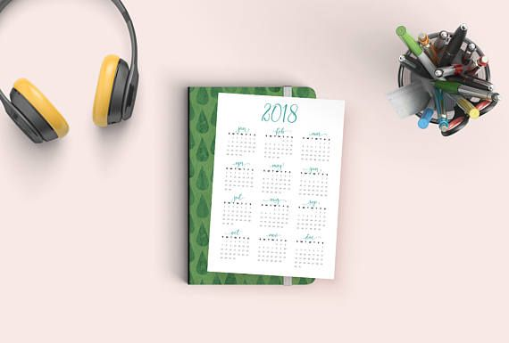 Let this minimalist year at a glance printable calendar brighten up your home or office. WHAT YOU GET: - 1 A5/A4/A3 format PDF - 1 US Letter format PDF - Both are high resolution PDF files - Please note this is a digital download, not a physical print - no physical products will be