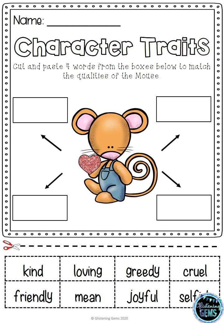 Happy Valentine S Day Mouse Character Traits Activities 50 Off 24 Hours In 2020 Character Traits Activities Teaching Science Elementary Elementary Activities