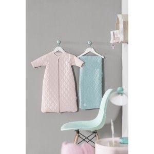 Sacco Nanna wafer vintage rosa con le maniche staccabili (in 3 misure) #sacconanna #kidsdesign #kidsroom #jollein #camerettapippi