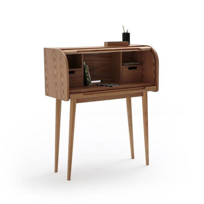 Bureau A Rideau Wapong Chene La Redoute Interieurs La Redoute Ikea Inspiration Desk Home Furniture