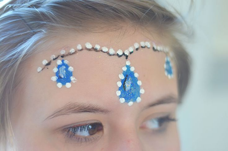 Face Paint can be easy to do, if you choose simple designs and good paints! face painting tutorials and face painting tips