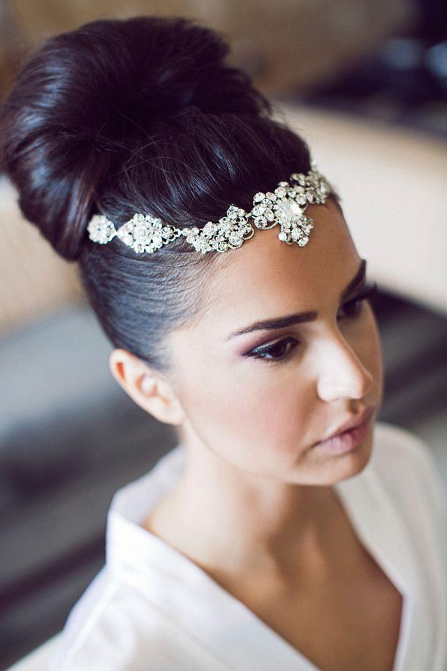 Astounding 1000 Ideas About Black Wedding Hairstyles On Pinterest Wedding Short Hairstyles Gunalazisus