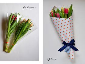 DIY Ako zabaliť rezané kvety