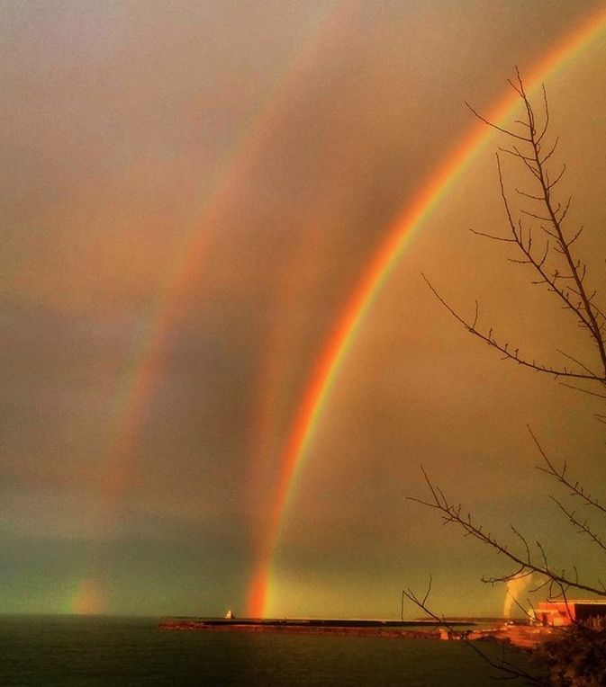 Triple rainbow, I love thee (and your doubles and singles and quads too!)!