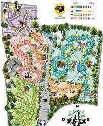 Mapa de el zoológico de Chapultepec