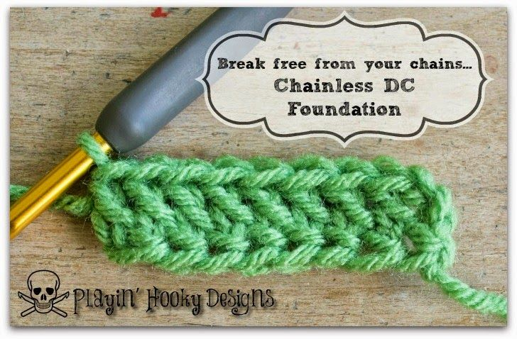 The CDC, chainless double crochet foundation. If you've clicked over to my  CSC  and  CHDC  tutorials then you know how much I hate worki...