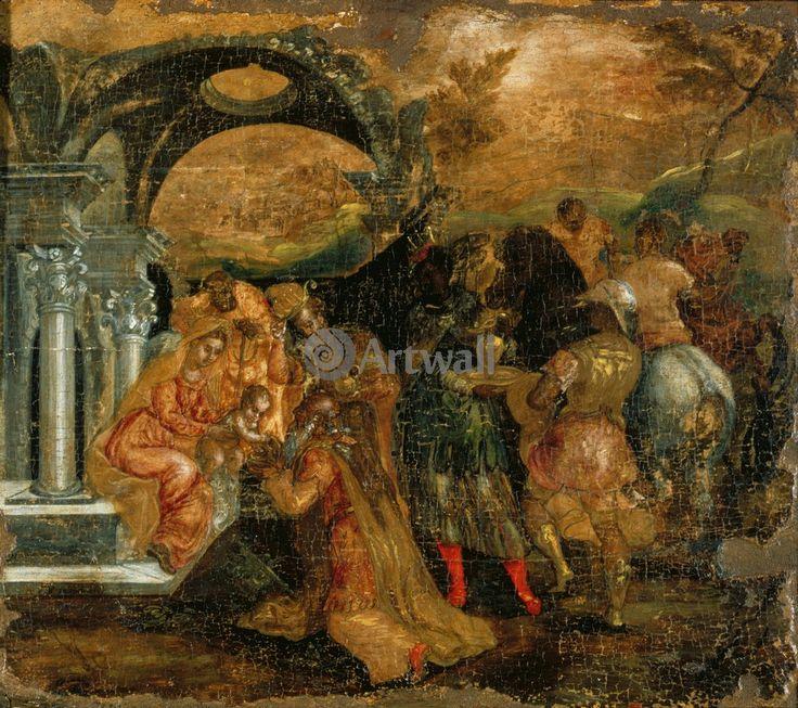 Эль Греко, картина Поклонение королейЭль Греко