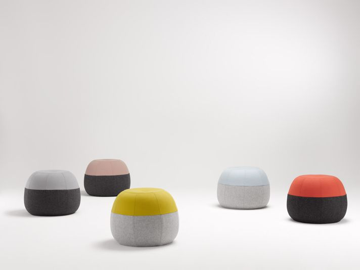 Beautiful ottomans.  Although I'm still not clear on what an ottoman is for.  Is it a foot-rest or a little perching seat?  Regarless, these are lovely. Puku_01