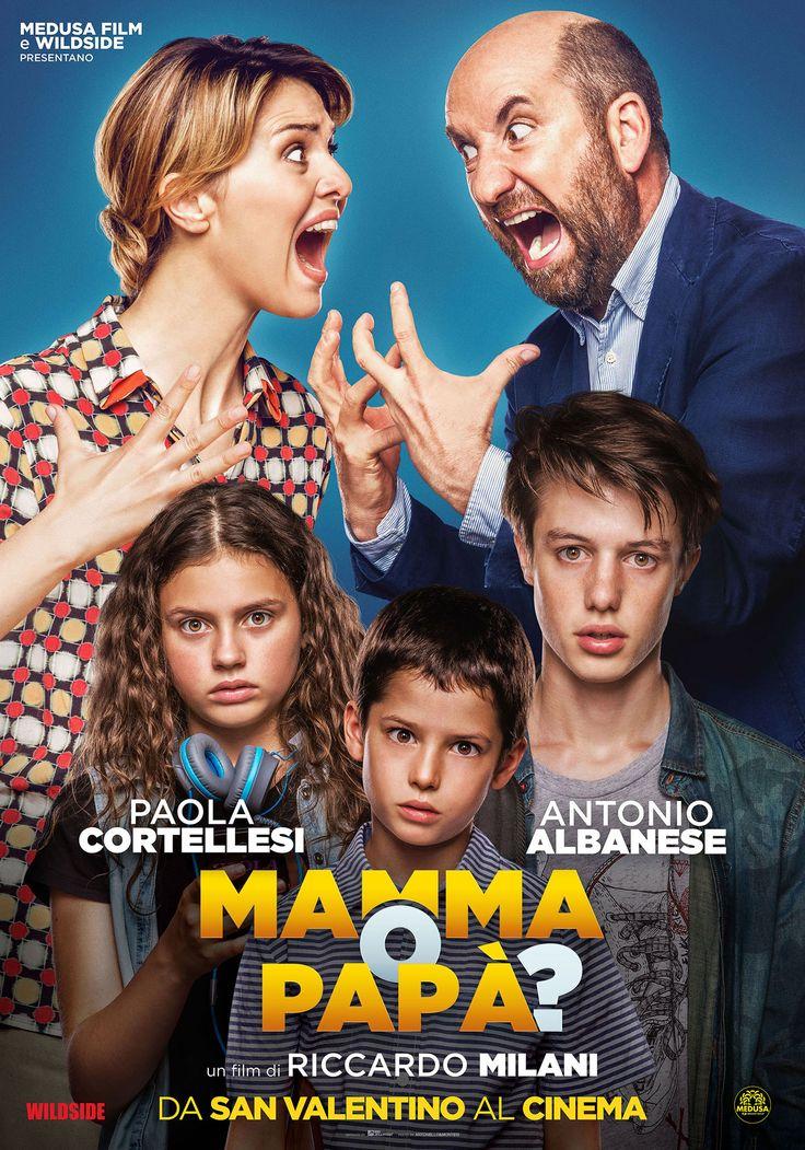 Mamma o papà?, il poster del film con Cortellesi e Albanese - MYmovies.it