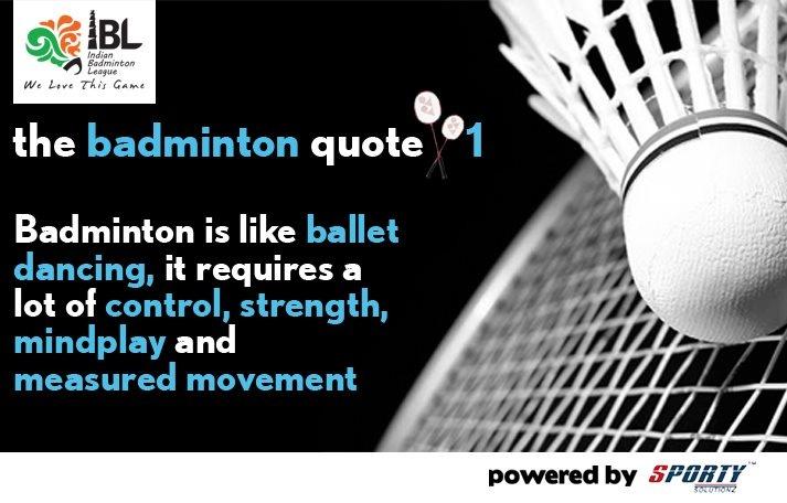 Badminton quote 1