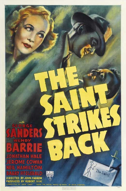 The Saint Strikes Back Movie Posters From Movie Poster Shop