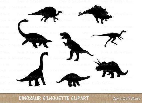 Dinosaur Silhouette Clipart Dinosaur Clipart