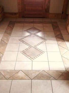 foyer tile ideas design ideas pictures remodel and decor - Flooring Design Ideas