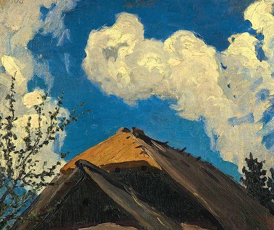 Ferdynand Ruszczyc   Thath and cloud, 1900