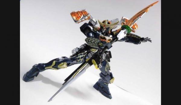 Kamen Rider Gaim Kachidoki Arms Versi Gundam | Antokuhero