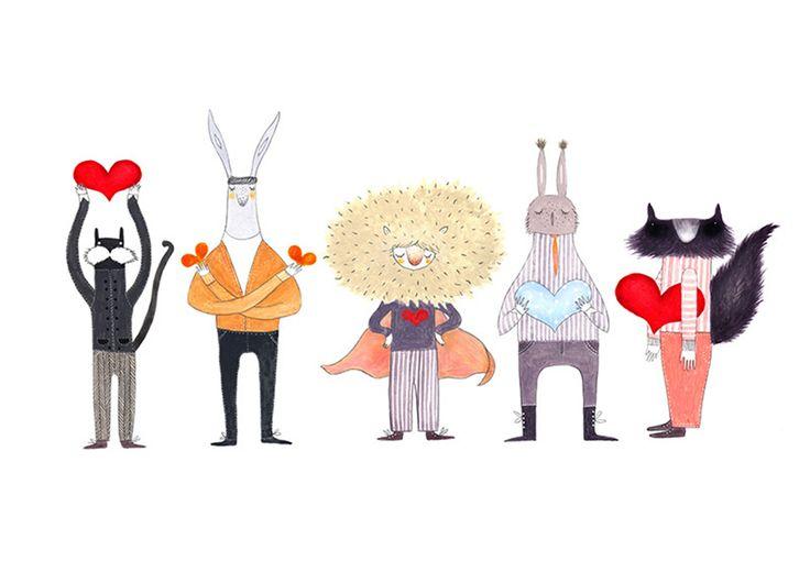 Cadouri de nuntă: 10 ilustrații semnate de artiști români
