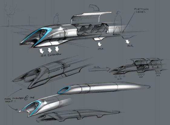 Elon Musk details Hyperloop: public transit via aluminum pods and electric motors