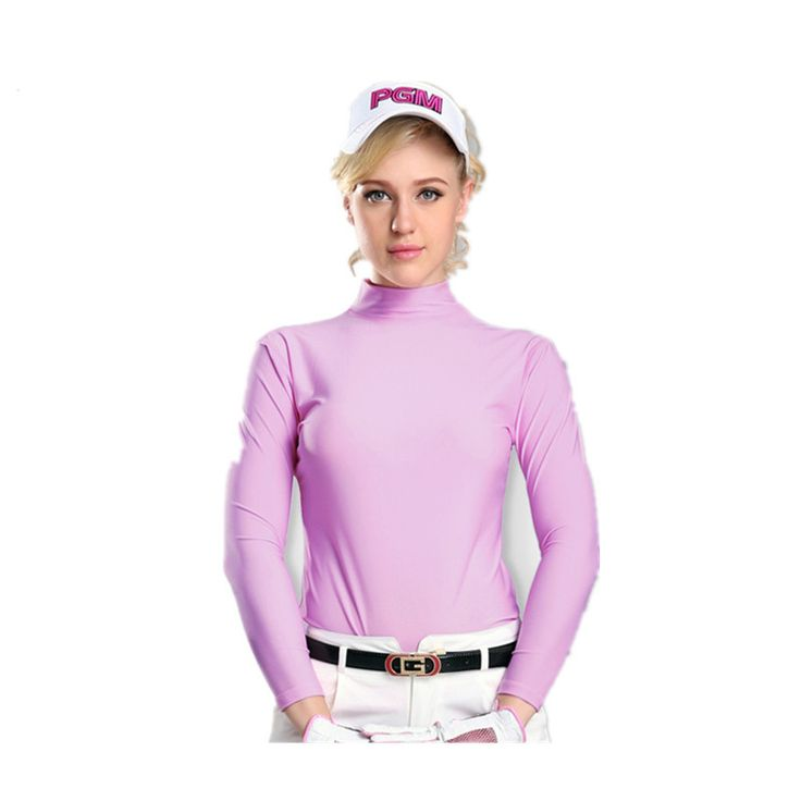 2016 Hot Sale Promotion Hombre Camisetas Mujer Mulheres Roupas De Golfe Golf Female Sun Shirt Ice Tights Summer Models Clothing