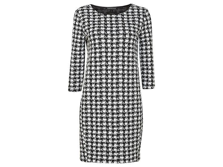 Mooie jurk van Tramontana met een Pied de Coq motiefje! #tramontana #mode #fashion #jurk #pieddecoq #graphic #print #design #styling #conceptstore #outfitoftheday #fashionblogger #weidesign #weidesignandmore #haarlem #hipshops #hipshopshaarlem #webshop #online