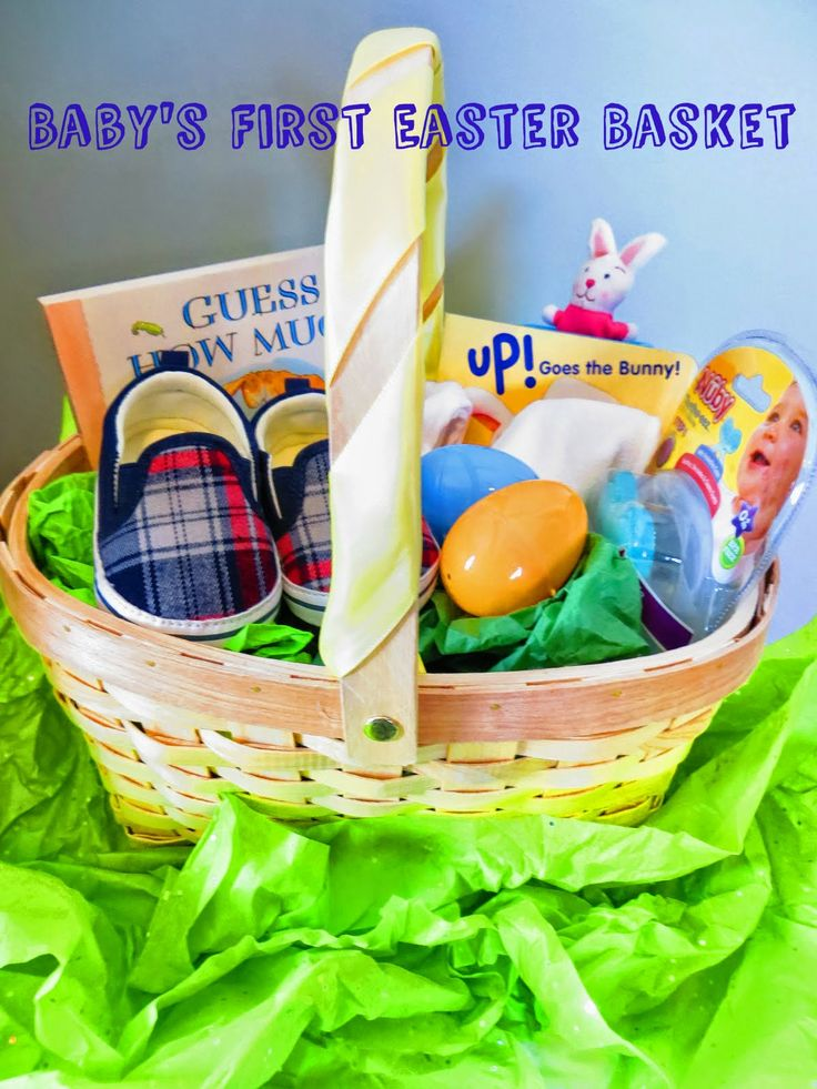 The 25 best babys first easter basket ideas on pinterest baby babys first easter basket negle Gallery