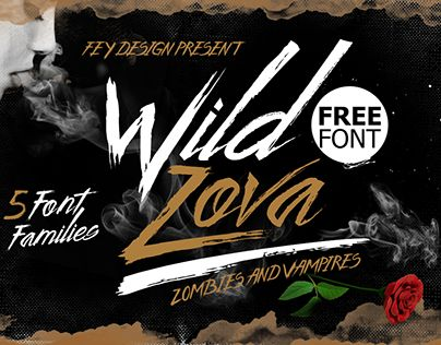 "Check out new work on my @Behance portfolio: ""Wild Zova Free Font"" http://be.net/gallery/40871665/Wild-Zova-Free-Font"