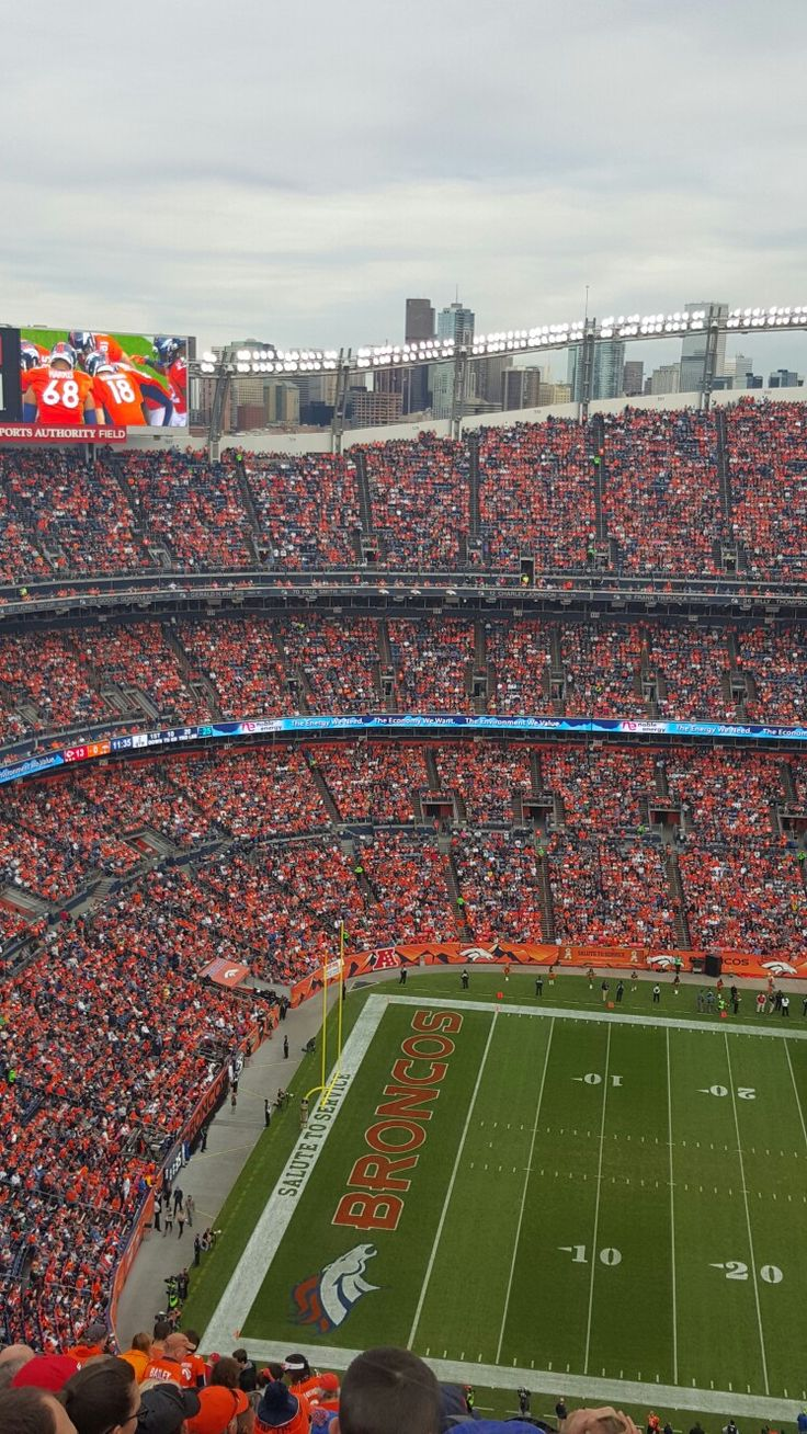 Sports Authority Field - Go Broncos