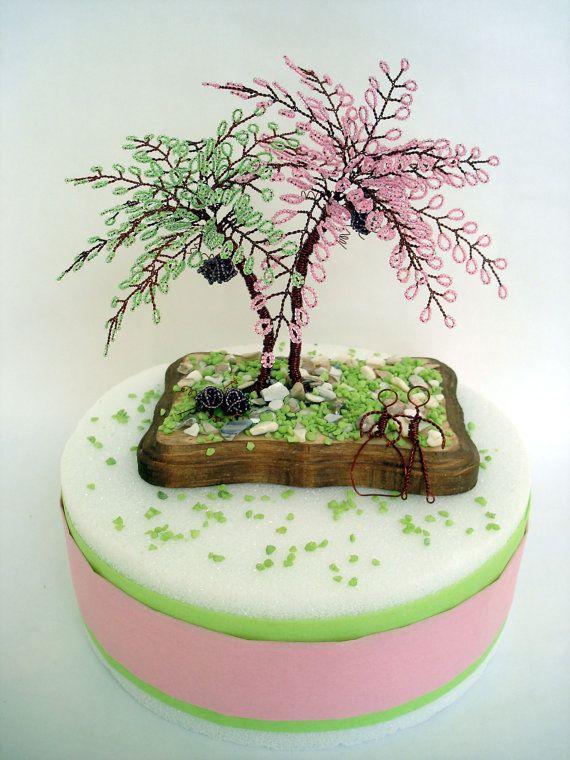 Boda tropical centro de mesa aniversario compromiso por wireforest