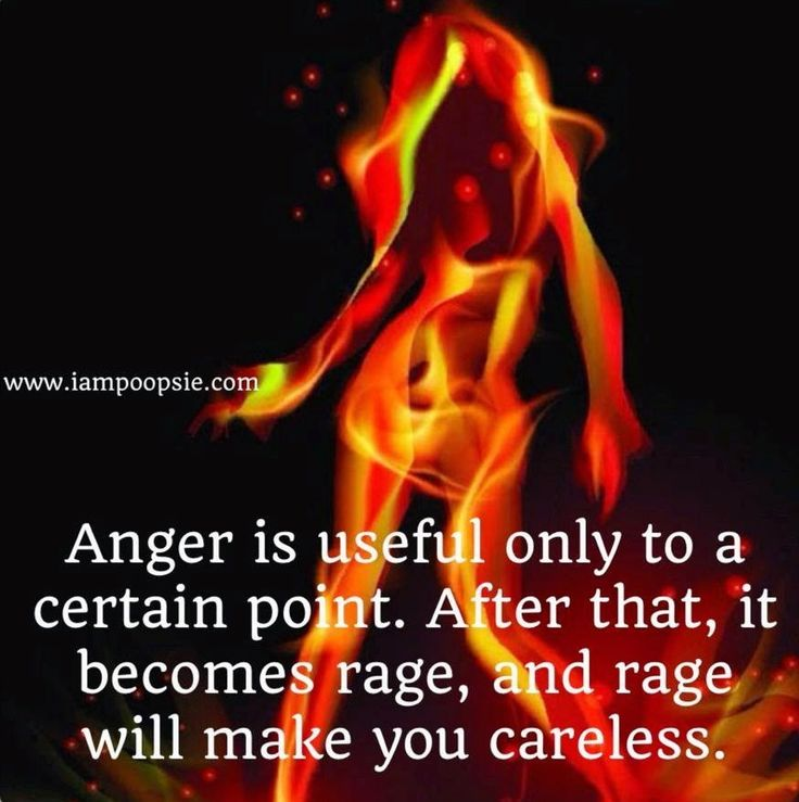 Sayings About Anger And Rage