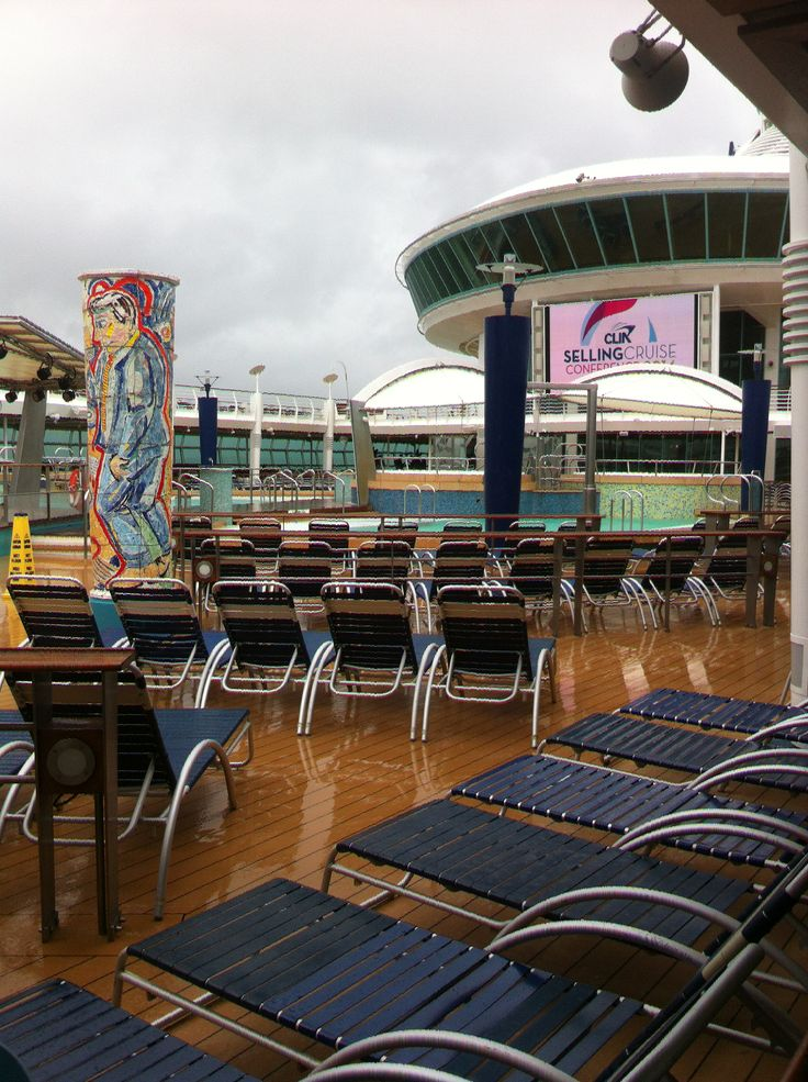 Royal Caribbean International - Adventure of the Seas, Pool Area