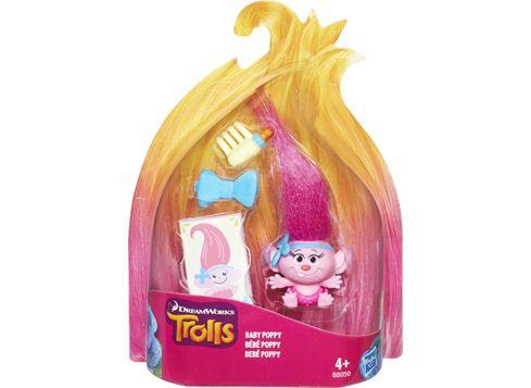 TROLLS Troll Town samlefigur, Baby Poppy