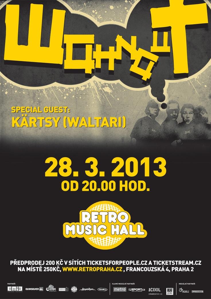 28.3.2013 - Wohnout - Retro Music Hall