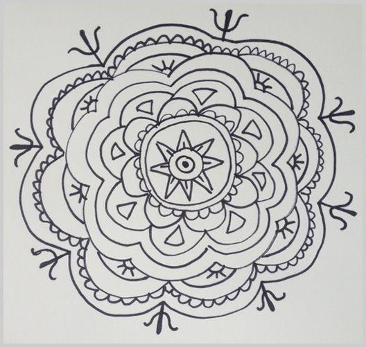 Paso 15 para dibujar un mandala doodles mandalas pinterest mandalas and blog - Pasos para pintar ...