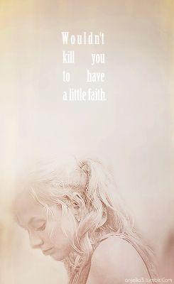 Beth Greene // The Walking Dead // Faith