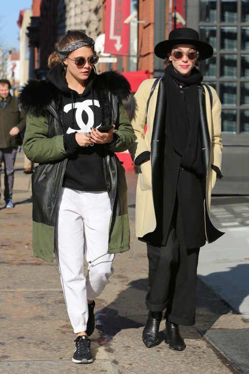 Cara Delevingne and St. Vincent Walk Together -- The Cut