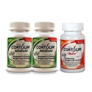 CortiSlim weight loss supplement --	  Buy 2 CortiSlim Advance get 1 CortiSlim Burn with clinically tested Razberi-K ™ (Raspberry Ketone) Free -- Qualifies for FREE shipping! www.cortislim.com