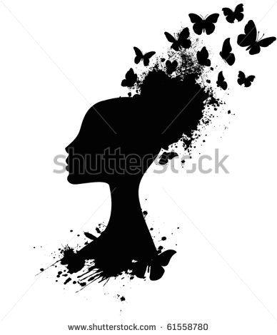 Siluetas Negras De Mujer Fotos, imágenes y retratos en stock   Shutterstock