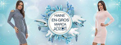 Intră și comandă modele superbe marca Adrom Collection, perfecte pentru acest sezon, direct de pe www.AdromCollection.ro.