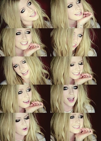 avril lavigne she is so beautiful and true to herself:) ! she reminds me so much of my friend Taylor!
