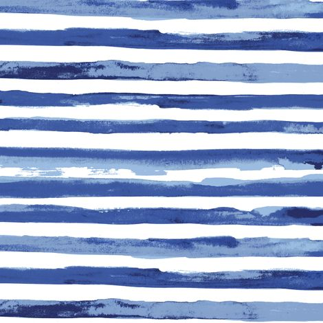 Watercolor stripe fabric by katarina on Spoonflower - custom fabric