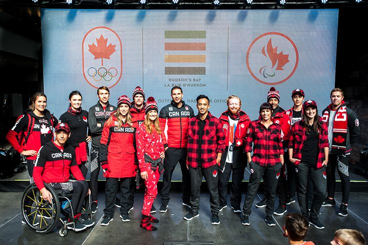 The Canadian Olympic outfits for 2018 have been revealed