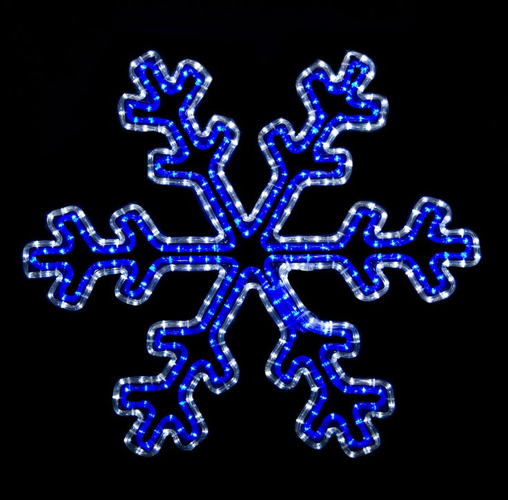 33 best christmas curb appeal images on pinterest christmas deco 2 blue and white led snowflake with controller aloadofball Image collections