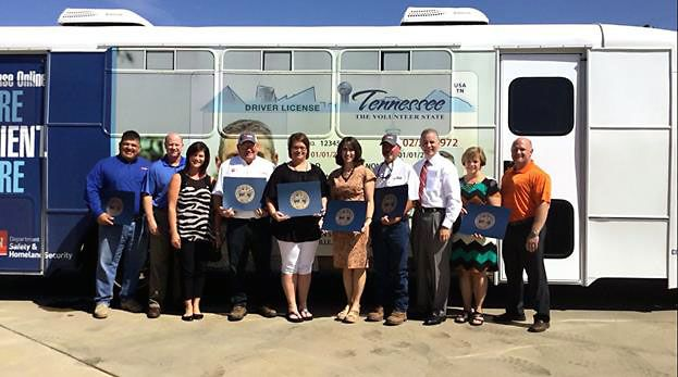 Clarksville Commercial Driver License testing location Grand Opening Ceremony
