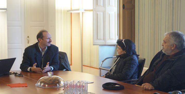 Επιμελητήριο Κυκλάδων - Συνάντηση με Περιφερειακούς Συμβούλους της Λαϊκής Συσπείρωσης