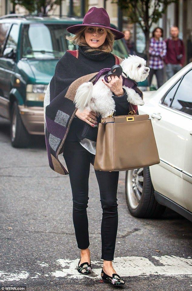 Cape / Olivia Palermo in New York
