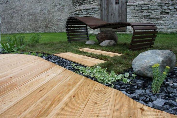 Drevená podlaha - exteriér